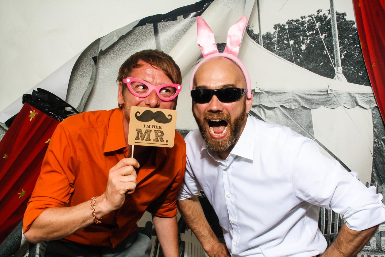 FotoBox-Fete auf der Hochzeit von Vero und Marc