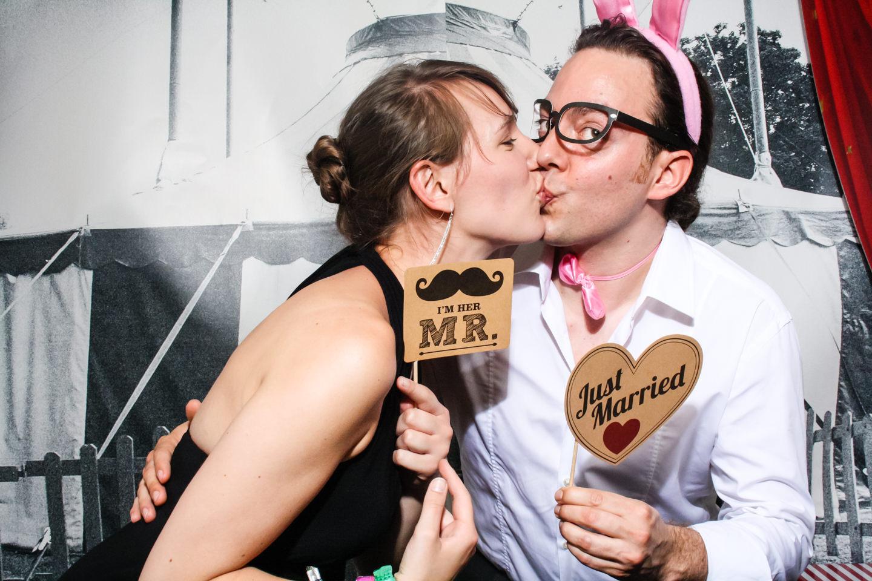 FotoBox-Fete auf der Hochzeit von Vero und Marc in Hilden