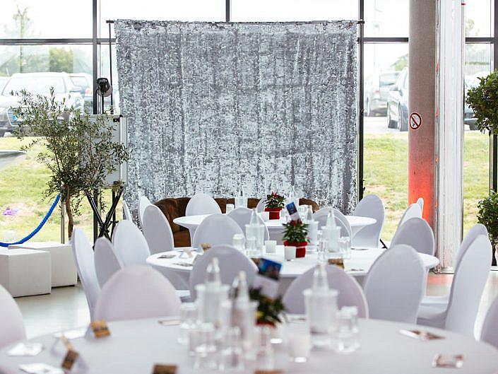 Silver Sparkle Hintergrund von Fotobox Fete - Thorsten Hennig Fotograf aus Paderborn